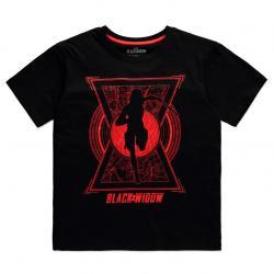 Camiseta mujer World Saviour Black Widow Marvel - Imagen 1