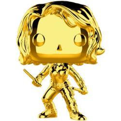 Figura POP Marvel Studios 10 Black Widow Gold Chrome - Imagen 1