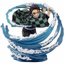 Figura Tanjiro Kamado Breath of Water Kimetsu No Yaiba Demon Slayer 15cm - Imagen 1