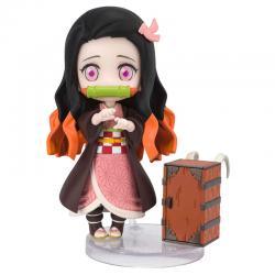 Figura Nezuko Kamado Demon Slayer Kimetsu No Yaiba 9cm - Imagen 1