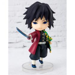 Figura Giyu Tomioka Demon Slayer Kimetsu no Yaiba 9cm - Imagen 1