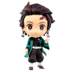 Figura Chibi Kyun-chara Tanjiro Kamado The Third Demon Slayer Kimetsu No Yaiba 6cm - Imagen 1