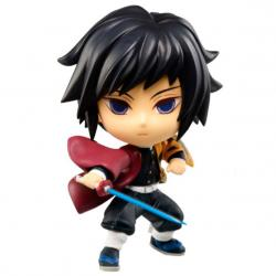 Figura Chibi Kyun-chara Giyu Tomioka The Third Demon Slayer Kimetsu No Yaiba 6cm - Imagen 1