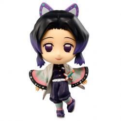 Figura Chibi Kyun-chara Shinobu Kocho The Third Demon Slayer Kimetsu No Yaiba 6cm - Imagen 1