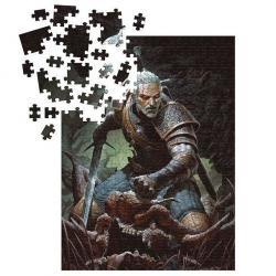 Puzzle Geralt The Witcher 3 Wild Hunt 1000pzs - Imagen 1