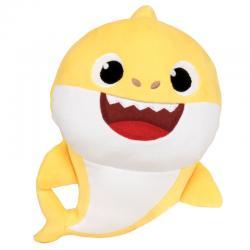Peluche Baby Shark spandex sonido 38cm - Imagen 1