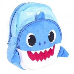 Mochila Daddy Shark Baby Shark 22cm - Imagen 1