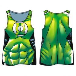 Camiseta agujeros Linterna Verde DC Comics adulto - Imagen 1
