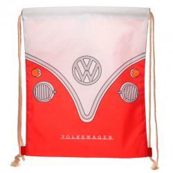 Saco Caravana Volkswagen VW T1 Rojo 46cm - Imagen 1