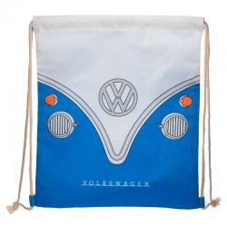Saco Caravana Volkswagen VW T1 Azul 46cm - Imagen 1
