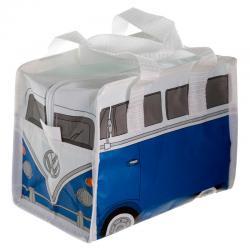 Bolsa portameriendas Caravana Volkswagen VW T1 Azul - Imagen 1