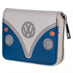 Cartera Caravana Volkswagen VW T1 Azul - Imagen 1