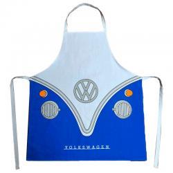 Delantal Caravana Volkswagen VW T1 Azul - Imagen 1