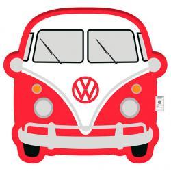 Cojin Caravana Volkswagen VW T1 Rojo - Imagen 1
