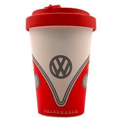 Taza viaje Caravana Volkswagen VW T1 Rojo bambu - Imagen 1