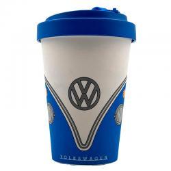 Taza viaje Caravana Volkswagen VW T1 Azul bambu - Imagen 1
