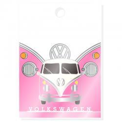 Pin Caravana Volkswagen VW T1 Rosa - Imagen 1