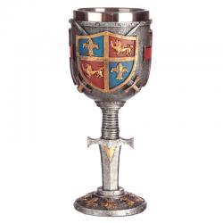 Copa Escudo y Espada Medieval - Imagen 1