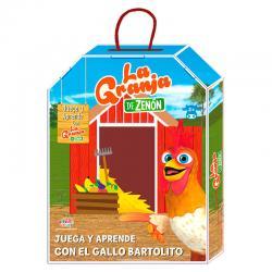 Actividades Juega y Aprende con el Gallo Bartolito la Granja de Zenon - Imagen 1