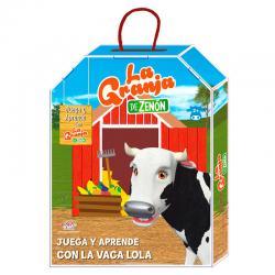 Actividades Juega y Aprende con la Vaca Lola la Granja de Zenon - Imagen 1