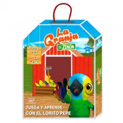 Actividades Juega y Aprende con el Lorito Pepe la Granja de Zenon - Imagen 1
