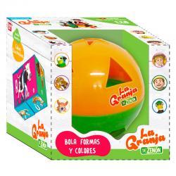 Bola Aprende Formas y Colores Granja de Zenon - Imagen 1