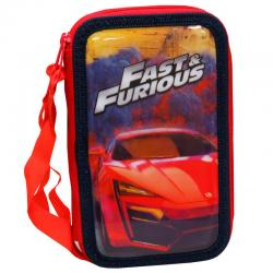 Plumier Fast and Furious triple - Imagen 1
