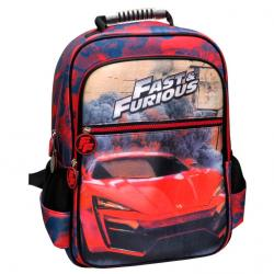 Mochila Fast and Furious adaptable 41cm - Imagen 1