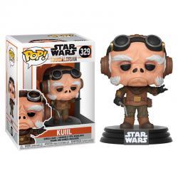 Figura POP Star Wars Mandalorian Kuiil - Imagen 1
