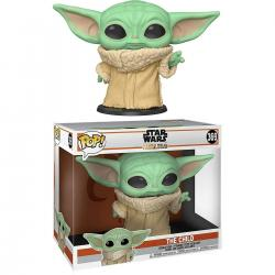 Figura POP Star Wars Mandalorian Yoda The Child 25cm - Imagen 1