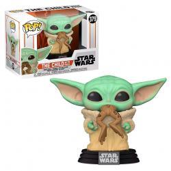 Funko POP Star Wars Mandalorian The Child with Frog - Imagen 1