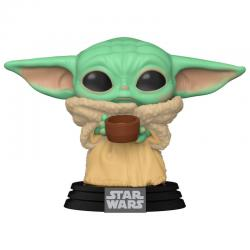 Funko POP Star Wars Mandalorian The Child with Cup - Imagen 1