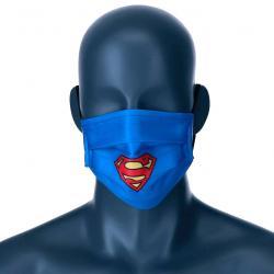 Mascarilla reutilizable Superman DC Comics adulto - Imagen 1