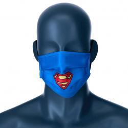 Mascarilla reutilizable Superman DC Comics juvenil - Imagen 1