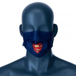 Mascarilla reutilizable Superman DC Comics infantil - Imagen 1