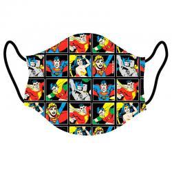 Mascarilla reutilizable DC Comics infantil - Imagen 1