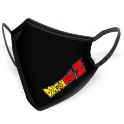 Mascarilla reutilizable Logo Dragon Ball Z adulto - Imagen 1