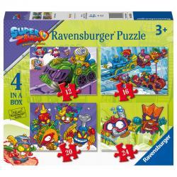 Puzzle Super Zings 12-16-20-24pz - Imagen 1