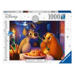 Puzzle La Dama y el Vagabundo Disney 1000pz - Imagen 1