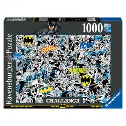 Puzzle Challenge Batman DC Comics 1000pz - Imagen 1