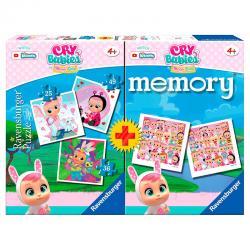 Multipack memory + 3 puzzles Bebes Llorones - Imagen 1