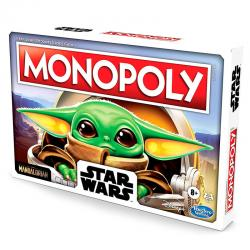 Juego Monopoly Mandalorian The Child Star Wars español - Imagen 1