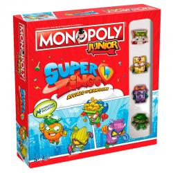 Juego monopoly Junior Superzings - Imagen 1