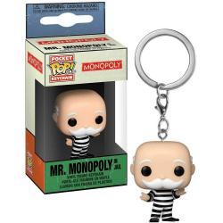 Llavero Pocket POP Monopoly Criminal Uncle Pennybags - Imagen 1