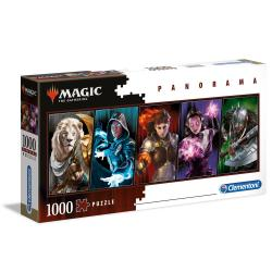 Puzzle Panorama Magic The Gathering 1000pzs - Imagen 1