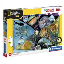 Puzzle Explorers in Training National Geographic Kids 104pzs - Imagen 1