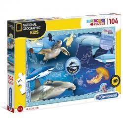 Puzzle Ocean Explorer National Geographic Kids 104pzs - Imagen 1