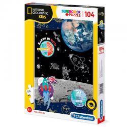 Puzzle Space Explorer National Geographic Kids 104pzs - Imagen 1