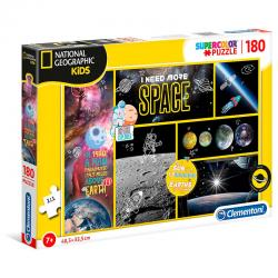 Puzzle I Need More Space National Geographic Kids 180pzs - Imagen 1