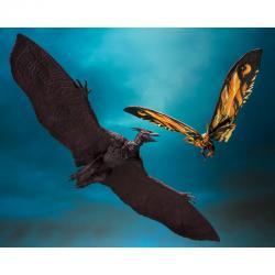 Set 2 figuras Mothra & Rodan Godzilla King Of The Monsters 2019 25cm - Imagen 1